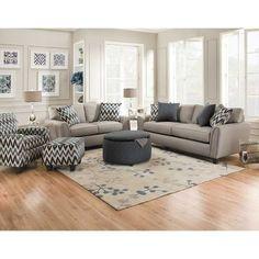 Indigo Slate Sofa D-55S