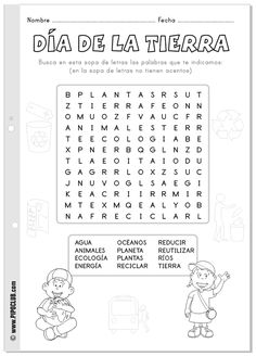 Spanish For Kids Worksheets Printing Ideas Dnd Spanish Teacher, Spanish Classroom, Teaching Spanish, Spanish Lessons For Kids, Spanish Games, Learn Spanish, Fish Activities, Earth Day Activities, Class Activities