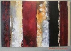 """Pintura em tela """"Abstrato Cores"""". <br>Sua sala tá precisando de cores? <br>Invista em decoração. Telas para todos os ambientes."""