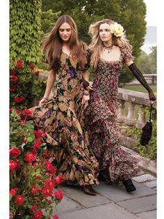 Ralph Lauren Floral Fall Collection - Pictures of Ralph Lauren and Fall 2010 Collection - Harper's BAZAAR