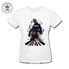 >> Click to Buy << 2017 Fashion Summer Style Cool Spiderman Superhero  Cotton funny t shirt women #Affiliate