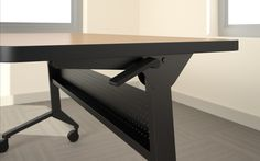 Simple, easy mechanisms to make your mobile furniture move and/or fold up are a must.