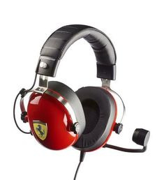 Gaming Headset, Audio, Sound Isolation, T Race, Ferrari Scuderia, Xbox One Pc, Clear Communication, Effective Communication, Pc Ps4