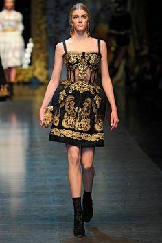 Dolce and Gabbana Fall 2012 RTW LOVE IT MY FAV!