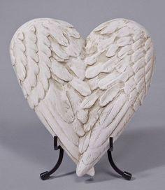 angel wings in heart shape - Google Search