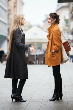 COATS WOMEN WEAR IN ZAGREB NOW | STREET STYLE SECONDS