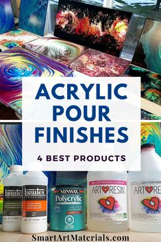 How to Varnish Acrylic Pour Painting. - Craft /office - How to Varnish Acrylic Pour Painting. Complete Guide + Best products Comparison and must-know Tips - Acrylic Painting Tips, Flow Painting, Cast Acrylic, Drip Painting, Acrylic Resin, Acrylic Art, Resin Art, Knife Painting, Acrylic Paint Colors
