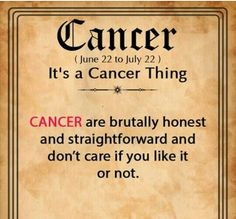 when it comes to that I won't say a thing Daily Horoscope Cancer, Cancer Leo Cusp, Cancer Zodiac Facts, Cancer Traits, Cancer Quotes, Scorpio, Zodiac Sign Traits, My Zodiac Sign, Zodiac Quotes