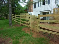 Evergreen Fence Deck Gallery