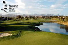 Sterling Hills Golf Club, Camarillo CA  $45 for 18 Holes with Cart and a Small Bucket of Range Balls PLUS a FREE Replay, If Available at Sterling Hills Golf Club in Camarillo, CA.