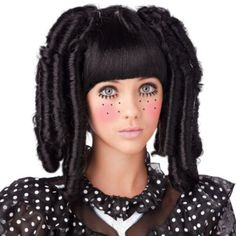 Results 61 - 120 of Find costume wigs for the whole family at discount prices for Halloween. Get a fake wig to complete any of our Halloween costumes for adults and kids. Our black wigs come short, long, in an Afro, pigtails, or even braids! Halloween Look, Halloween Wigs, Halloween Makeup, Spirit Halloween, Costume Wigs, Girl Costumes, Costume Makeup, Marionette Costume, Costume Ideas
