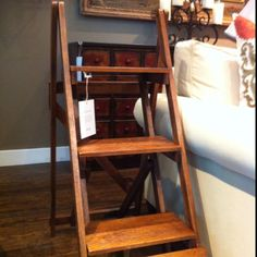 $169 Pottery Barn, Tiered Accent Table.