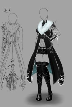 Outfit design - 143  - closed by LotusLumino.deviantart.com on @deviantART