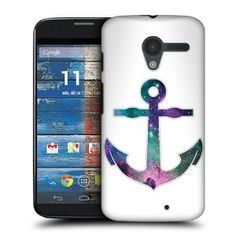 Amazon.com: Head Case Anchor Hipsterism Protective Hard Back Case Cover For Motorola Moto X: Cell Phones & Accessories