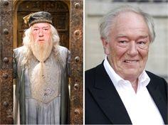 Что с ними стало? Все актеры «Гарри Поттера» 14 лет спустя Альбус Дамблдор — Майкл Гэмбон