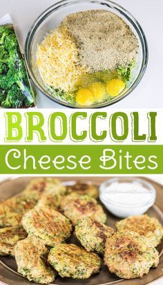 Broccoli Cheese Bites -- Awesome healthy snack idea for kids! (short video tutorial and lots of pictures). Fast Forward Fun