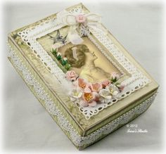 A Summer Gift Box   Dimensional Projects   Paper Crafting Projects   Tara's Craft Studio