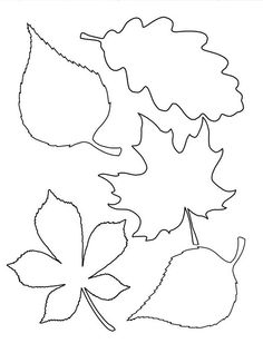 Leaf template # Easy Crafts fall 4 Easy Fall Garlands - A Beautiful Mess Fall Leaf Template, Leaf Template Printable, Printable Leaves, Flower Template, Bookmark Template, Leave Template, Free Printable, Fall Crafts, Diy And Crafts