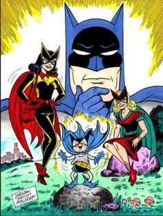 The Bat-Family by Sheldon Moldoff
