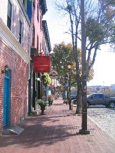 Thames Street; Fells Point, Baltimore