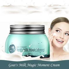 New Version Skin Nutrient Goat Milk Quality Moment Cream Anti aging Nourishing Super Moisturizing Face Body Cream for Rough skin #Affiliate