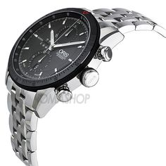 Oris Artix GT Chronograph Black Dial Stainless Steel Mens Watch 674-7661-4434MB
