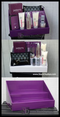 Stack Displays is a great way to display your Jamberry Nails products at vendor events or home parties! You can also use them to organize your products at home, too! Also coordinates with Scentsy and Younique products!