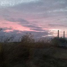 @EttingerLondon #MyColourOfSummer evening sky on the Norfolk broads