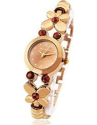 Womens Ladies Bronze Stainless Watches Butterfly Bracelet with Gem Elegant Waterproof Wrist Watches by THAITIME $8.95Prime FREE Shipping on eligible orders Show only THAITIME items 4.1 out of 5 stars 184
