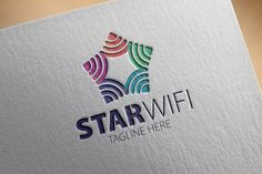 Check out Star Wifi Logo by samedia on Creative Market