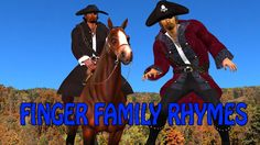 cow boy finger family | finger family song | 3d nursery rhymes for children