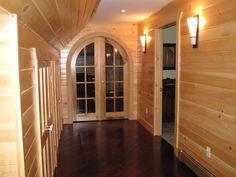 Riverbend Log Homes call 1(800)561-3000 or visit us at www.riverbendloghomes.com White Cedar, Log Homes, Outdoor Decor, Ideas, Design, Home Decor, Timber Homes, Decoration Home, Wood Homes