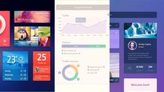 30 Best Free Photoshop Flat PSD UI Kits
