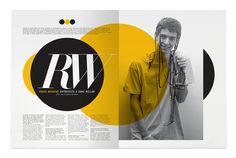 ue monocromático, com grids bem elaborados, tipografia bacana que consegue agregar muito bem ilustrações nas páginas.
