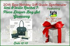 timi & leslie Rachel 7-Piece Diaper Bag Set Giveaway Ends 12/13 ~ Tales From A Southern Mom
