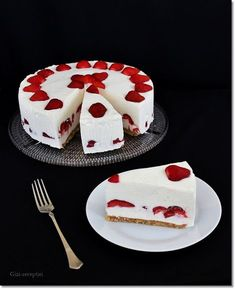 Cake Cookies, Yummy Treats, Pudding, Panna Cotta, Deserts, Baking, Breakfast, Ethnic Recipes, Minden