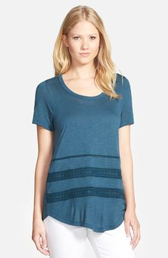 Pleione Drape Back Knit Top available at #Nordstrom