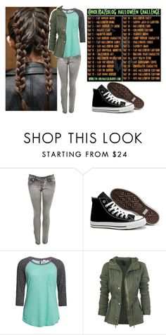 """""""30 day Halloween challenge"""" by bubble-loves-you ❤ liked on Polyvore featuring Miss Selfridge, Converse and BKE"""