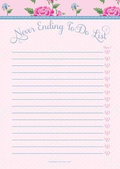 Free-printable-to-do-list- to frame & use as a dry erase board