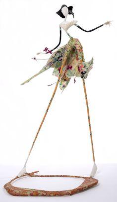 Laure Freyermuth - Sculpture en papier mâché