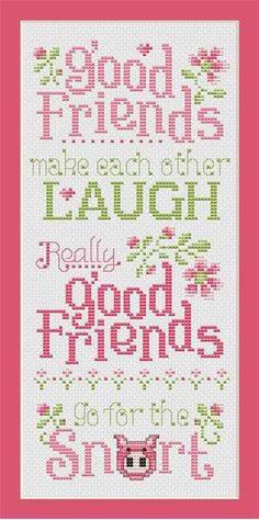 Good Friends pattern
