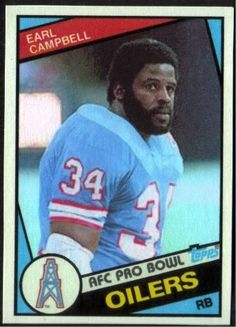 1000 images about earl campbell 18 oiler on pinterest earl campbell houston and football - Walter payton madden 15 ...