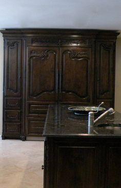 Chateau Designs Kitchens  ~~refrigerator~~