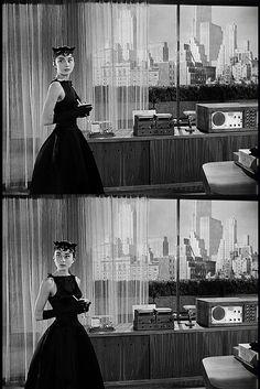 Audrey Hepburn in Sabrina, 1954