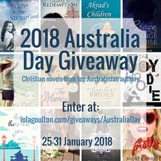 """Carolyn Miller on Twitter: """"How many Australian Christian authors can you name? 12 have joined together for a #Giveaway of 12 novels and novellas and a $50 Amazon gift card. Happy #AustraliaDay! https://t.co/WdVUxb4J3r… https://t.co/vd7sOkS6Mw"""""""