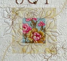 Quilt wall hanging Love  Shabby Chic by thebutterflyquilter, $40.00
