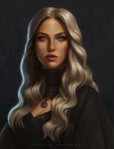 Daenerys Targaryen - pp Character Portraits, Character Art, Character Design, Character Sketches, Female Character Inspiration, Fantasy Inspiration, Design Inspiration, Final Fantasy Art, Dark Fantasy Art