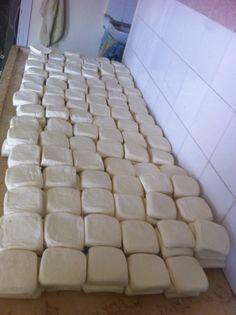 ما قبل سلق الجبنة النابلسية ❤️
