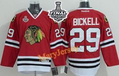 Only  34.88 please email me at maryjerseyelway gmail.com for Blackhawks 29  Bryan Bickell Red 2015 Stanley Cup Stitched NHL Jersey af66966ad