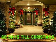 60 christmas porch decor ideas momooze christmas outdoor decorating front porch holiday decorating ideas balcony decor ideas for christmas outdoor christmas decoration ideasThe Best Outdoor … Outside Christmas Decorations, Christmas Front Doors, Decorating With Christmas Lights, Christmas Porch, Elegant Christmas, Noel Christmas, Porch Decorating, Beautiful Christmas, Decorating Ideas